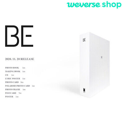 BTS BE Deluxe Edition CD+Photobook+Photocard+Etc+Weverse shop Gift+Tracking#