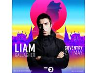 Biggest weekend tickets Coventry x 4 liam Gallagher, UB40, Snow patrol, Stereophonics