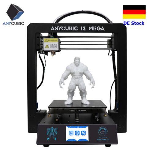 DE Stock ANYCUBIC 3D Drucker I3 Mega Upgrade Voll Metallrahmen Große Druckgröße