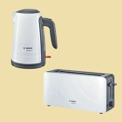 Prim Wasserkocher aus Kunststoff mit Edelstahlappl - Styline Bosch TWK8611P