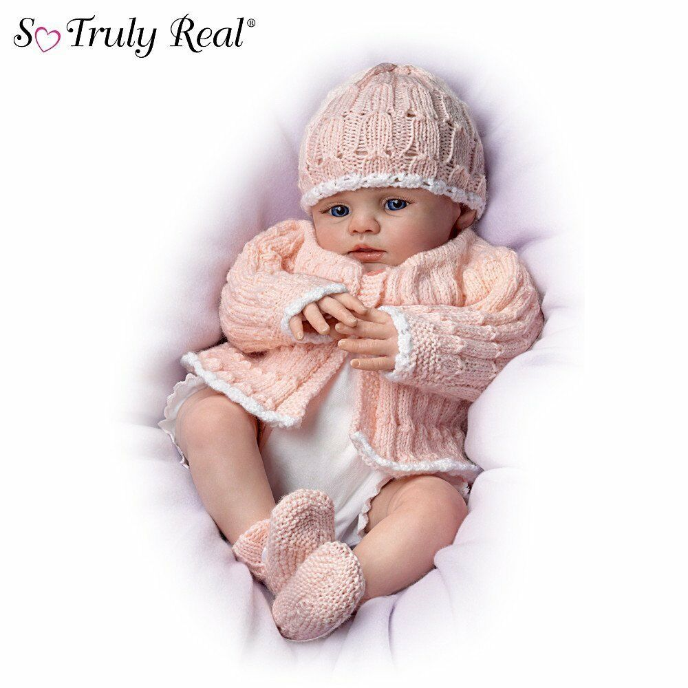 Ashton drake so truly real abby rose lifelike baby doll for The ashton