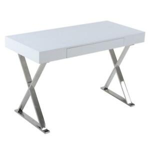 WHITE CONSOLE TABLE | ENTRYWAY TABLE | CHEAP CONSOLE TABLES | CHEAP WHITE CONSOLE TABLE (BD-824)