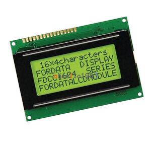 LCD 16x4 1604 Character LCD Display Module LCM Yellow Blacklight 5V Arduino