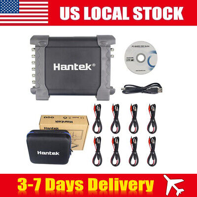 Hantek 1008c Daq Program Generator Oscilloscope Pc Usb Automotive 8ch Diagnostic