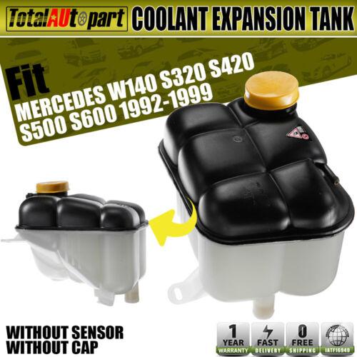 Cap Sensor W140 S320 S420 S500 Mercedes Coolant Reservoir Expansion Tank