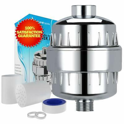 Universal Shower Head Water Filter - Works Best to Remove Chlorine  Hard