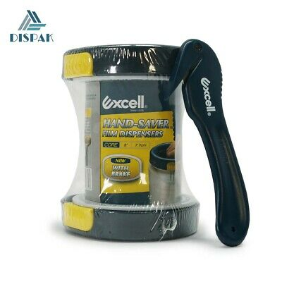 Excell Hand-saver Stretch Film Dispensers - Bonus Pack With Film Cutter