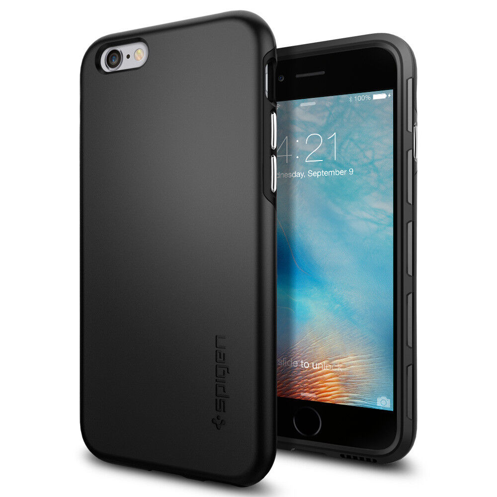 Spigen® Apple iPhone 6S Case  QNMP Slim TPU Protective Cove