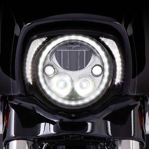 Ciro Black LED Headlight Bezel for Harley DavidsonTouring 45201