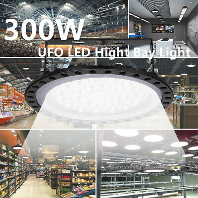 10x 300W UFO LED High Low Bay Light Factory Warehouse Shed Lighting NEW STYLE