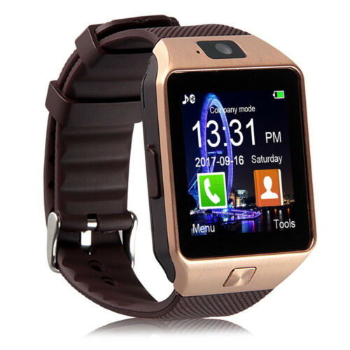 New DZ09 Bluetooth Smart Watch Phone + Camera SIM Card For Android IOS Phones US