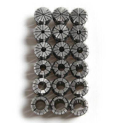 Er32 Collet 18pcs 3-20 Mm Collet Chuck Milling Spindle Machine Lathe Accessories