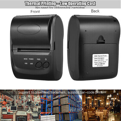 Pos-5802dd Portable Wireless Usb Thermal Printer Receipt Ticket Pos Printing