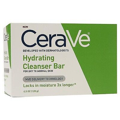 CeraVe Hydrating Cleansing Bar 4.5 Oz (pack Of 4)