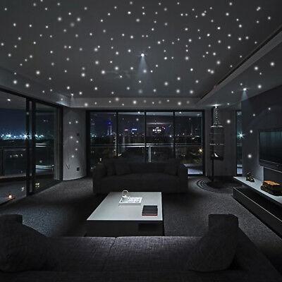 Glow In The Dark Star Wall Stickers 104Pcs Round Dot Luminous Kids Home Decor