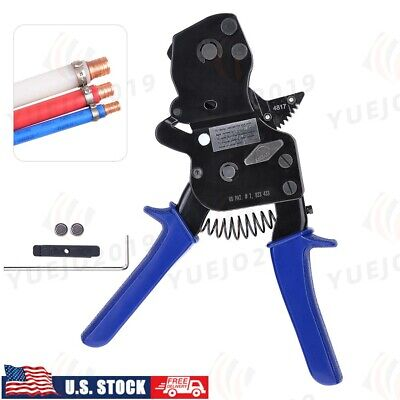 Pex One Hand Cinch Clamp Tool Ratchet Pinch Crimping Wrench Crimper 38 To 1