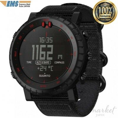 SUUNTO Core SS023158000 Watch Black Red 3ATM azimuth Altitude Atmosphere Depth