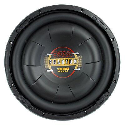 "Boss D12f 12"""" 1000w Shallow Mount Diablo Series Car Audio S"