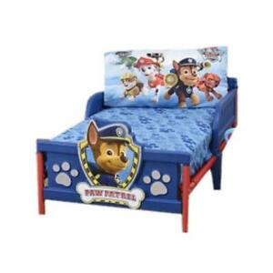"Paw Patrol Toddler Bedding Sheet 2 Piece Set - 28"" x 52"" Bed Sheet and Pillowcase Set"