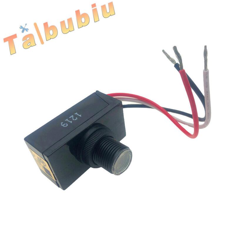Dusk Dawn Outdoor Swivel Photo Light Control Photocell Sensor LED 110~130V USA