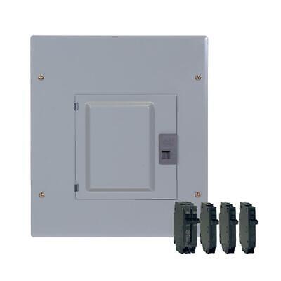 Ge 100 Amp 12-space 22-circuit Main Breaker Indoor Load Center -tm1210ccubk1