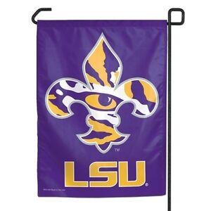LSU-Louisiana-State-University-Polyester-11-x15-Garden-Yard-Wall-Flag-NCAA
