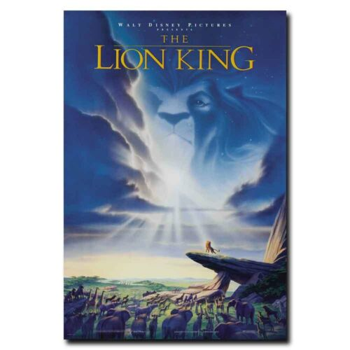 The Lion King 24x36inch 1994 Classic Animation Movie Silk Po