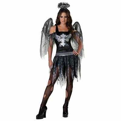 InCharacter Dark Angel Halloween Costume Fancy Dress Costume Outfit 14-16 Yrs - Dark Angel Costume For Girls