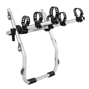 Free Delivery: Foldable Aluminium Strap-On 3 Bicycle Bike Rack C Moorebank Liverpool Area Preview