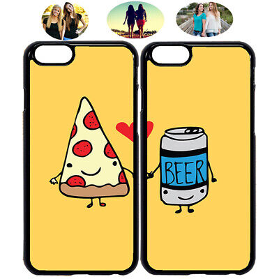 Pizza & Beer Best Friend Phone Case Cover For iPhone X XR XS 5 6 7 8 S8 S9 (Best Friend Cases For Iphone 5)