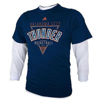 ADIDAS Oklahoma City Thunder nba Jersey Shirt YOUTH KIDS BO