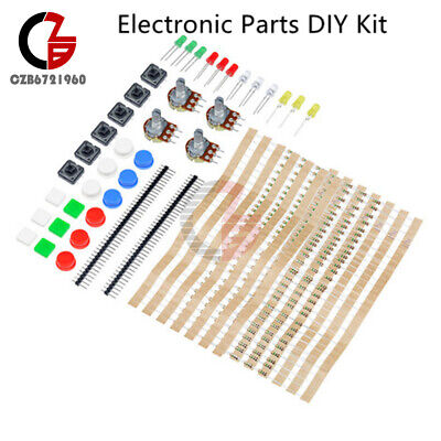Electronic Parts Pack Diy Kit 100pcs 1k Resistors For Arduino Component Switch