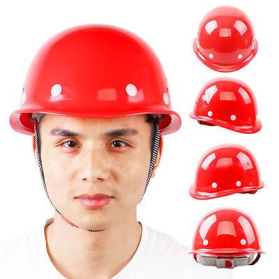 Safety Hard Hat Suspension Helmet Construction Cap Adjust Suit For All Head Size