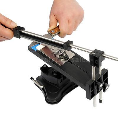 Kitchen Professional Fix-angle Knife Sharpener Sharpening System With 4 Stones