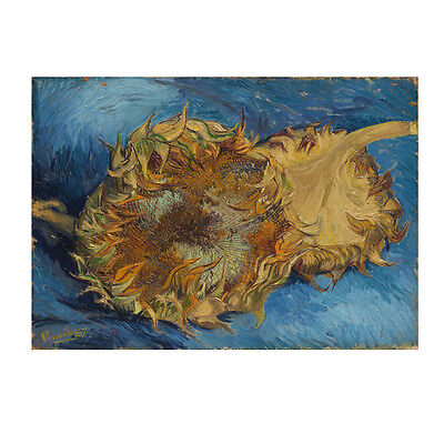 Canvas Print Picture Van Gogh Painting Repro Home Decor Wall Art Sunflower