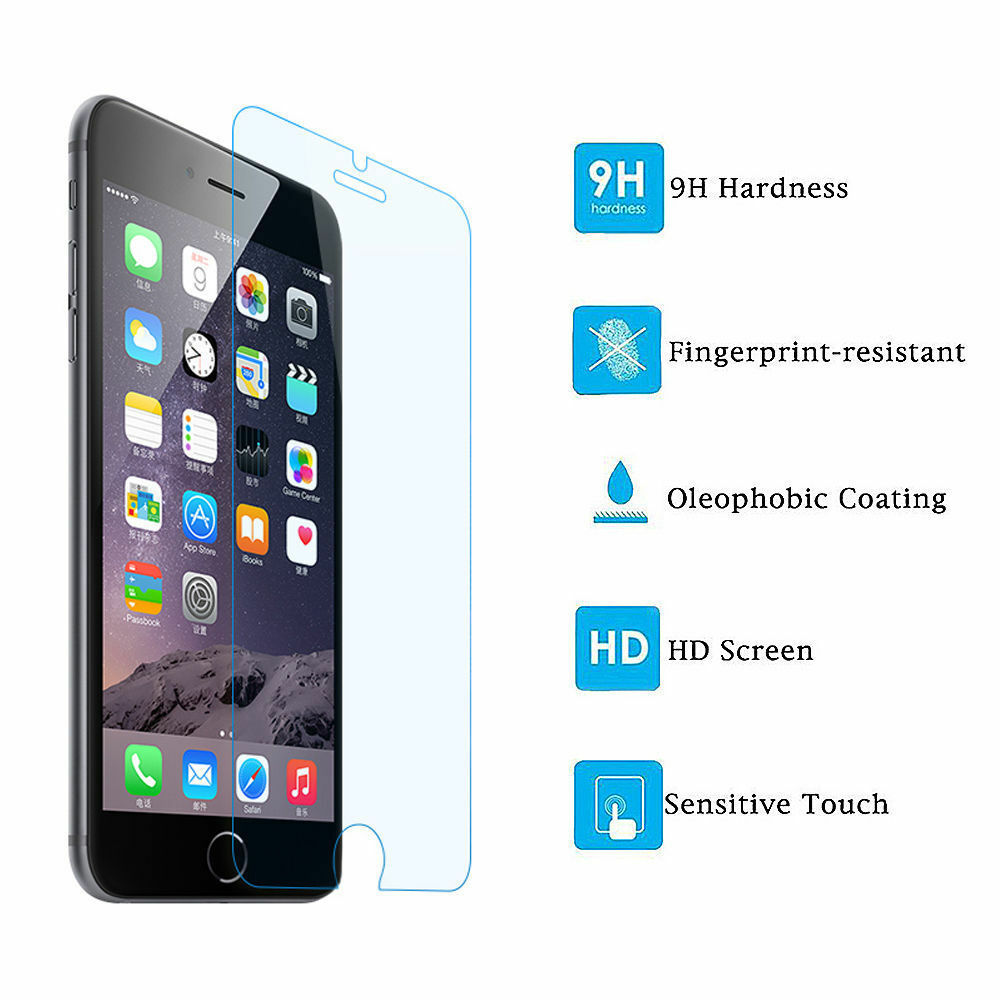 Premium Real Screen Protector Tempered Glass Protective Film For iPhone 7 Plus Cell Phone Accessories