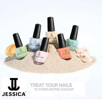 Jessica Custom Nail Colour Nail Polish Varnish Various Colours 14.8ml