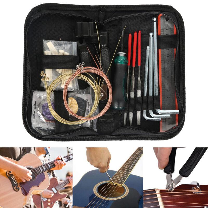Gitarre Repair Feilen Tool Set Schleifwerkzeug Guitar Pflege Reinigung Werkzeug
