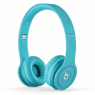 Beats by Dr. Dre Solo HD On-Ear Headphones (Light Blue)