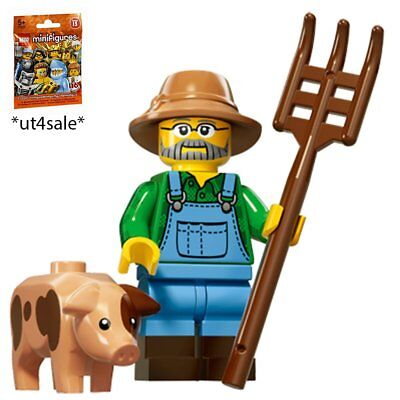 LEGO 71011 MINIFIGURES Series 15 #1 Farmer with unused code