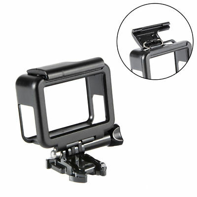 GoPro Hero 6/5 Frame Housing Border Protective Shell Case -  Black