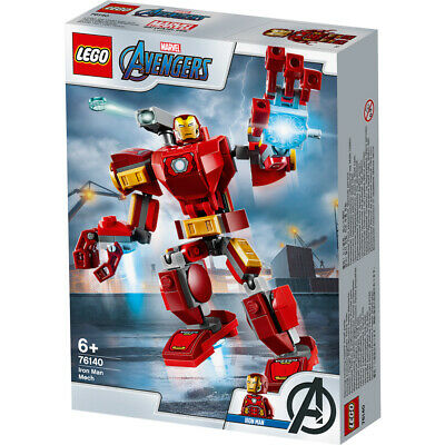 Lego Marvel Avengers Classic Iron Man Mech Building Set - 76140