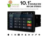 "10.1"" HD Android Double Din Car Stereo With WiFi 3G GPS USB SD Aux & Phone Screen Mirroring"