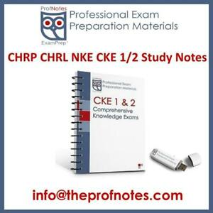 CHRP CKE 1 CKE 2  Comprehensive Knowledge Exam Prep HR Knowledge Guide for HRPA Human Resources Exams