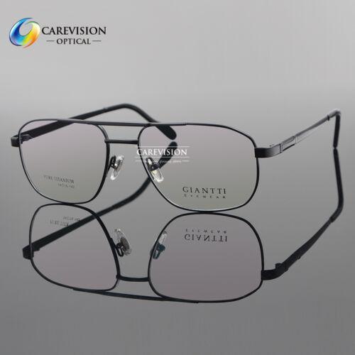Pure Titanium Men's Full Rim Myopia Glasses  Frames Optical