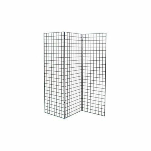 Only Hangers Black Finished Grid Z Unit with Three 2