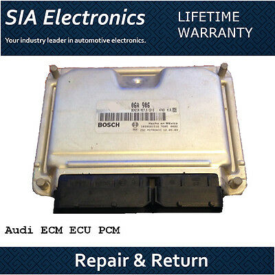 Audi ECM ECU PCM Repair & Return Audi ECM Repair All Years All Models ECM Repair