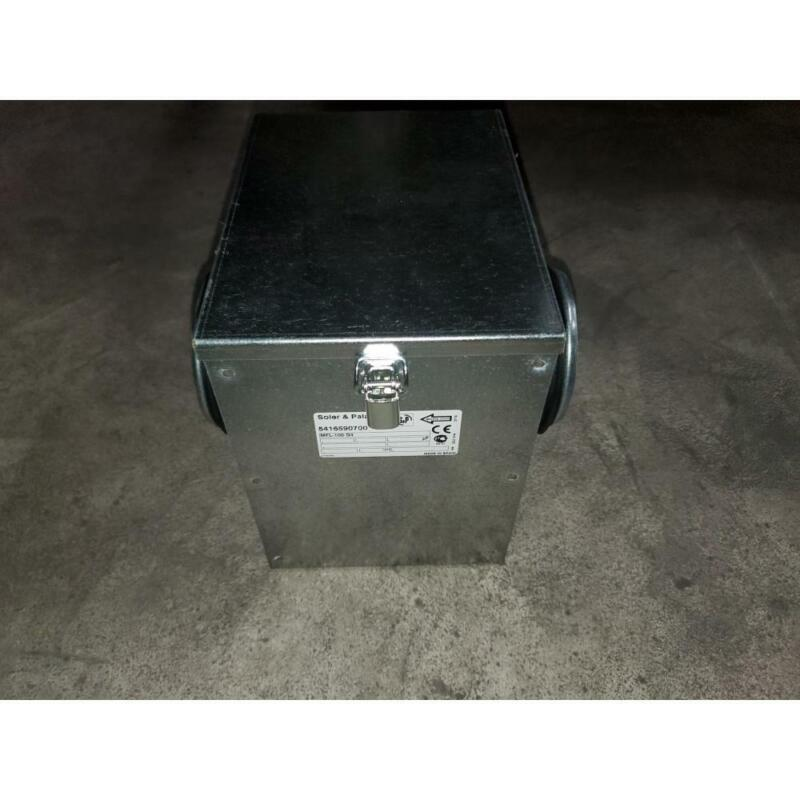 SOLER & PALAU MFL-100 G4/5416590700 MFL FILTRATION BOX