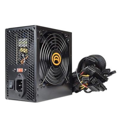 Bd&a Power AK 680W 204 Pin ATX PSU w SATA and PCIe, Black