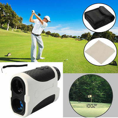 Golf Laser Range Finder  Angle Scan  w/Case Rangefinder